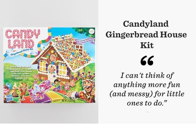 Candyland Gingerbread House Kit ›
