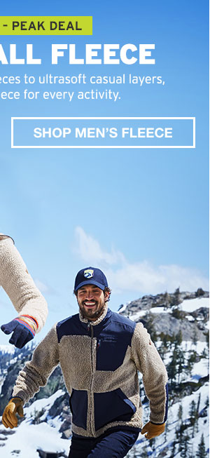 50% OFF ALL FLEECE | SHOP MEN'S FLEECE