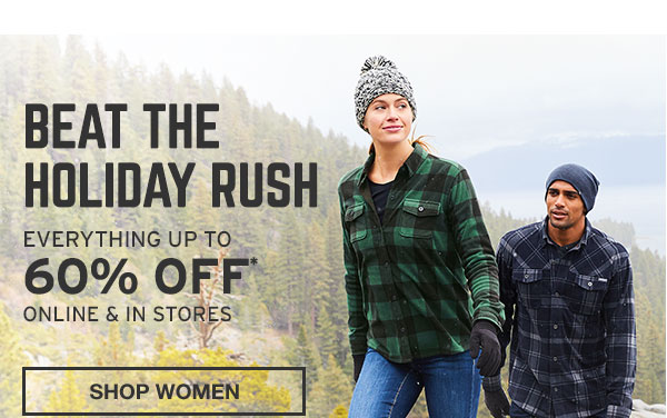 BEAT THE HOLIDAY RUSH | SHOP WOMEN