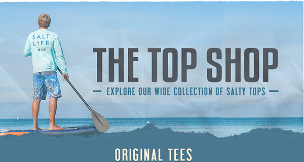 Find out what makes Salt Life tees so comfortable and durable.