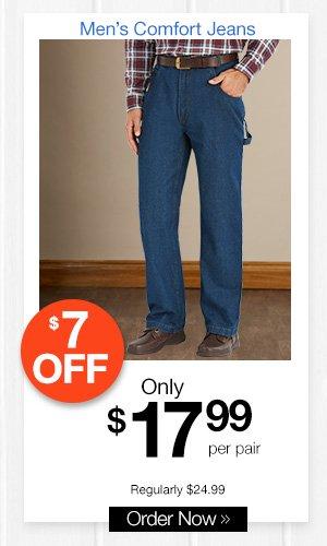 Men's Comfort Jeans