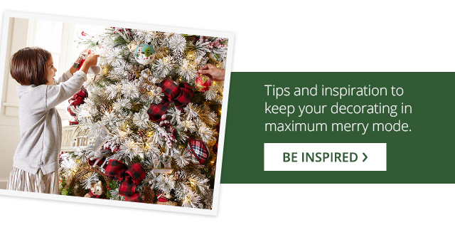 Tips and inspiration to kee you decorating in maximum merry mode.