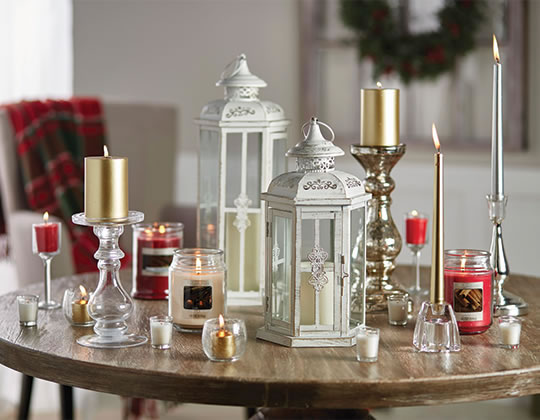 Hudson 43 Candle and Light Collection, Welcome Lamps and Luminaries.