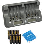 8-Bay Rapid Charger Kit