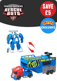 Transformers: Rescue Bots Optimus Prime Racing Trailor
