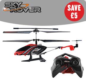 Sky Rover Stalker Helicopter Red