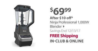 Ninja Professional 1,000W Blender