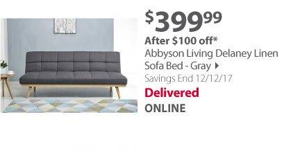 Abbyson living sofa bed