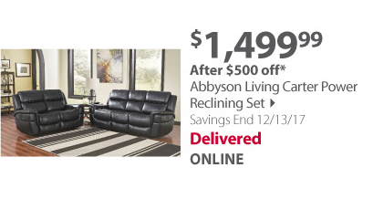 Abbyson Living Reclining Set