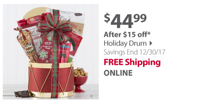 Holiday Drum Gift Set