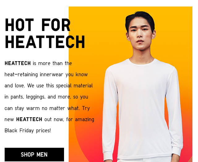 HOT FOR HEATTECH - Shop Men