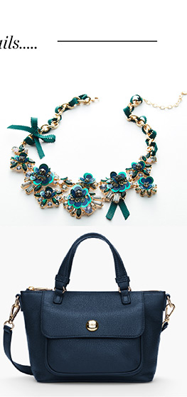 Details, details...The festive and fabulous extras we love! Accessories