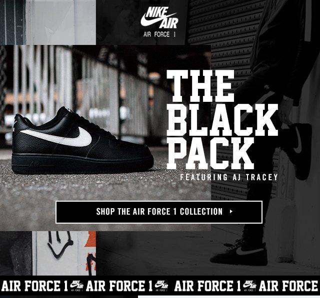 Footasylum  Air Force 1  Black Pack  featuring AJ Tracey  a590e80cf