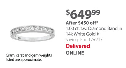 Amairah 1.00 ct. t.w. Diamond Wedding Band in 14k White Gold