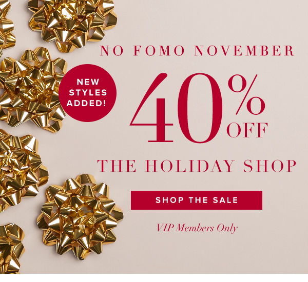SHOP HOLIDAY SALE