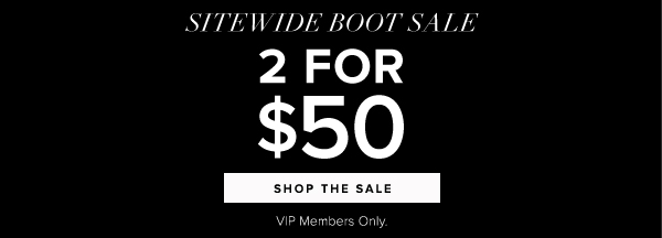 2 FOR 50 SHOP THE SALE