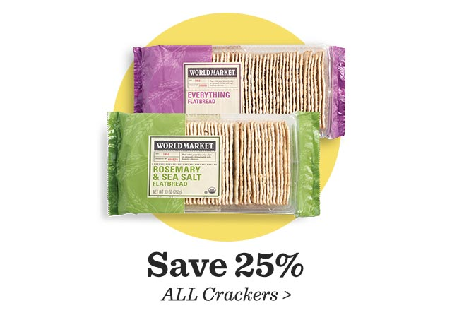 Save 25% All Crackers ›