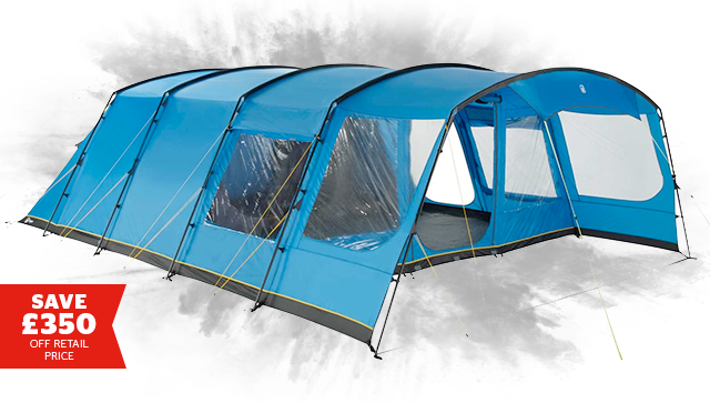Hi Gear Oasis Elite 6 and 8 Family Tent