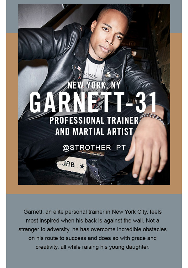 Garnett, trainer and martial artist