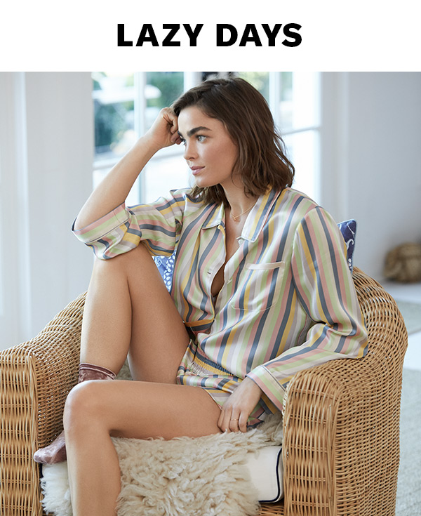 The latest loungewear from Cosabella, Eberjey, Morgan Lane, and SUNDRY (warning: may cause sleepiness).