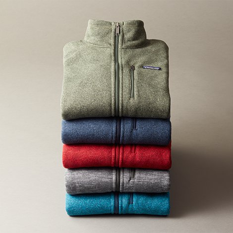 Give Patagonia, the classic better sweater.