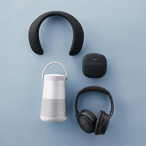 Give tech, go wireless with Bose.