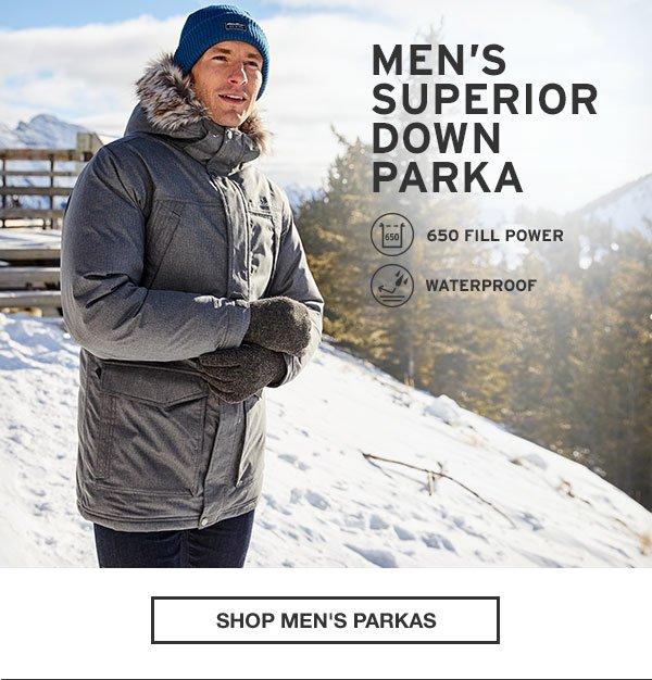 MEN'S SUPERIOR DOWN PARKA | SHOP MEN'S PARKAS