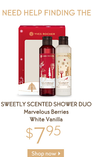 SWEETLY SCENTED SHOWER DUO