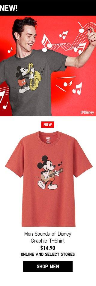 NEW! Sound of Disney - Shop Men