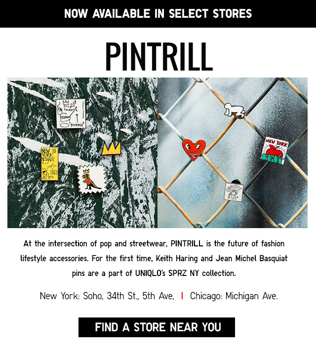 PINTRILL - now available in select stores