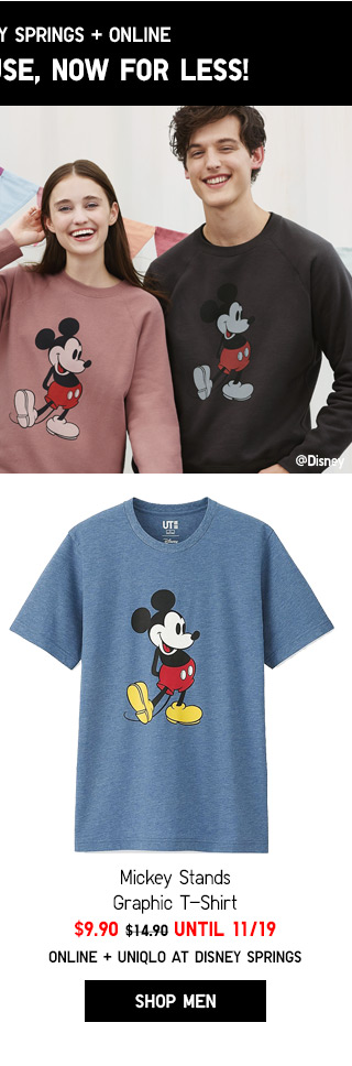 MICKEY STANDS - NOW $9.90 until 11/19 - Shop Men