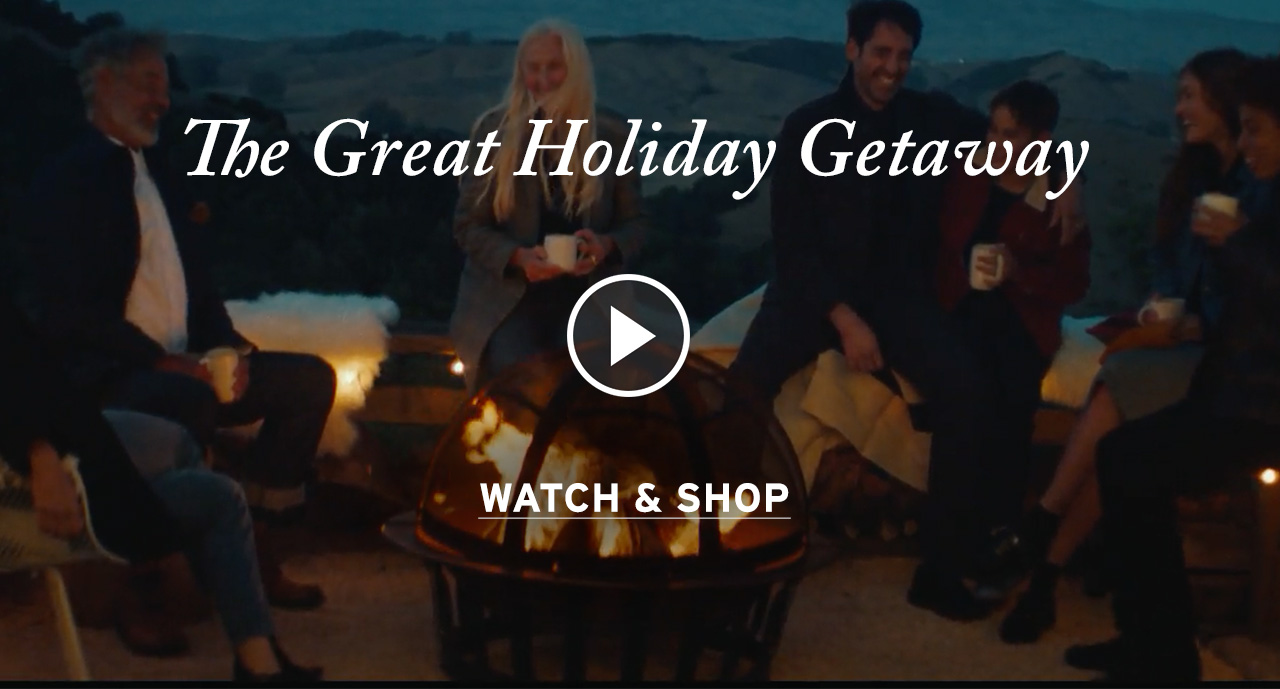The Great Holiday Getaway. Watch & Shop