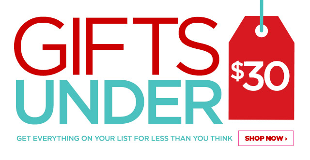 gifts under 30