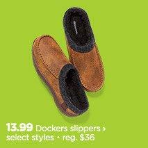 dockers slippers