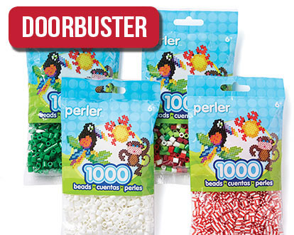 Perler 1000-count Bead Bag. OFFER VALID IN-STORE Only.