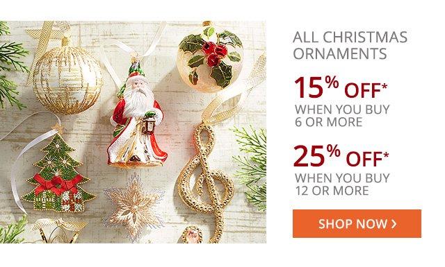 Christmas Ornaments. Shop now.