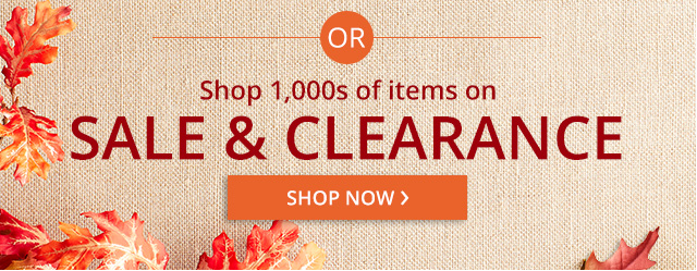 Shop 1,000's of items on sale & clearance. Shop now.