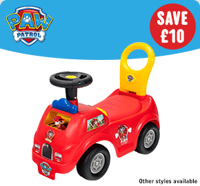 Paw Patrol Activity Ride On