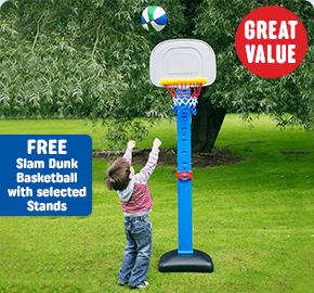 Adjustable Basketball Stand