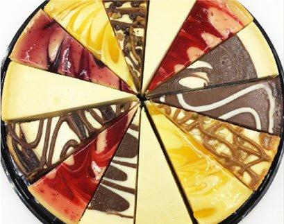 (1) Wellsley Farms Party Cheesecake Sampler