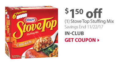 (1) Stove Top Stuffing Mix