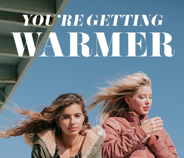 YOU'RE GETTING WARMER - Shop Jackets