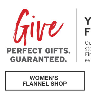 40% OFF YOUR PURCHASE | WOMEN'S FLANNEL SHOP