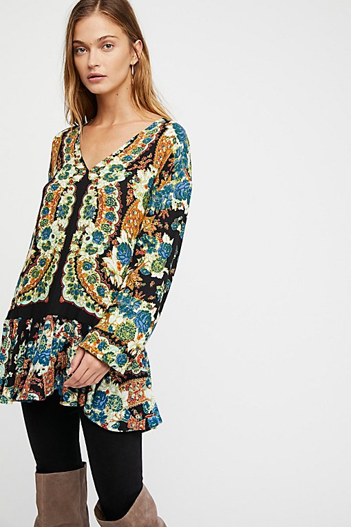 Lovely Dreams Printed Tunic