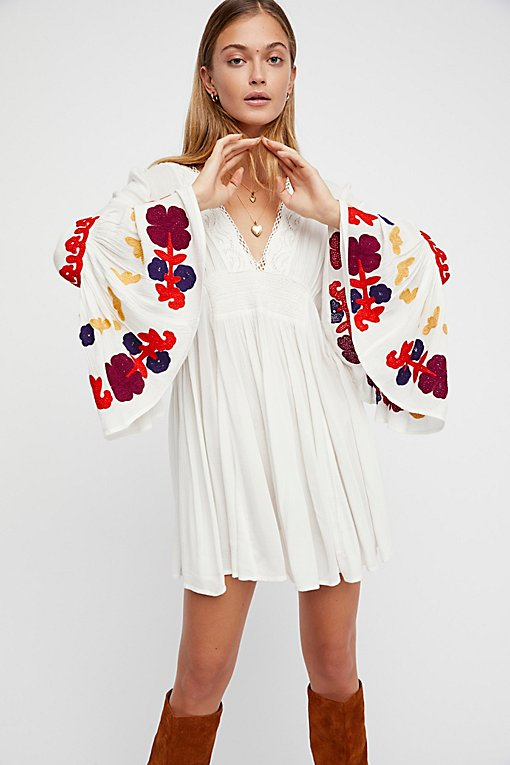 So In Love Embroidered Tunic
