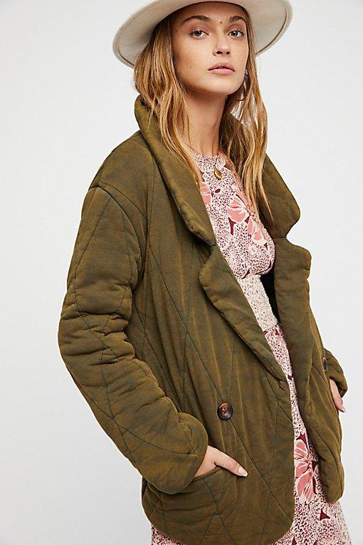 Tawny Pillow Jacket
