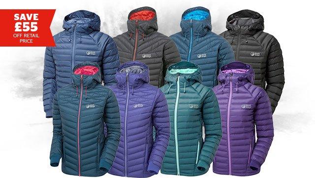 North Ridge Mens & Women's Hybrid Down Jacket