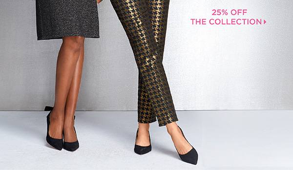 3. The LBD & The Holiday Pant. Dressing up can still be cozy. 25% Off The Collection