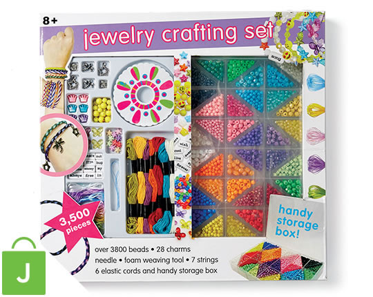 Kids' Jewelry Crafting Set.