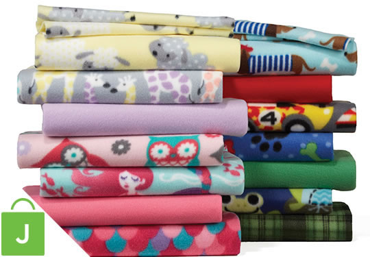 Blizzard Fleece Solids and Prints.